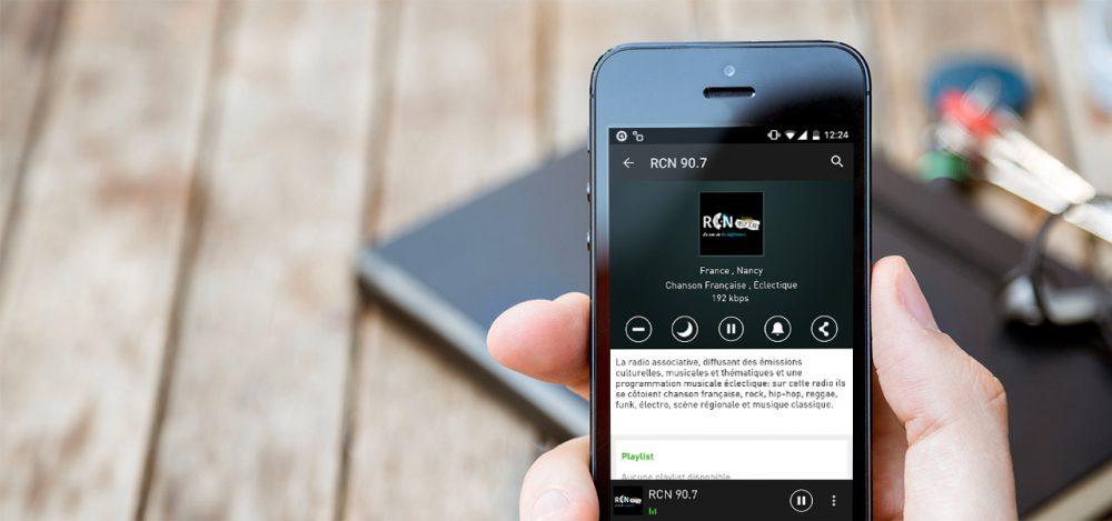 Écoutez RCN sur votre mobile