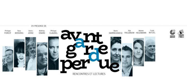 """Lectures publiques """"Avant-garde perdue"""" à l'Hôtel de Département"""