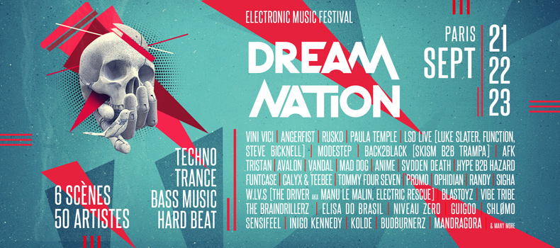 Le Festival Dream Nation à Paris revient en septembre