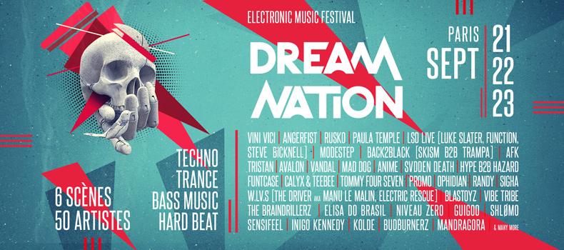 Gagnez vos places pour le Festival Dream Nation le 23 septembre prochain !