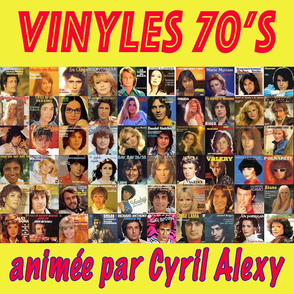 Vinyles 70's