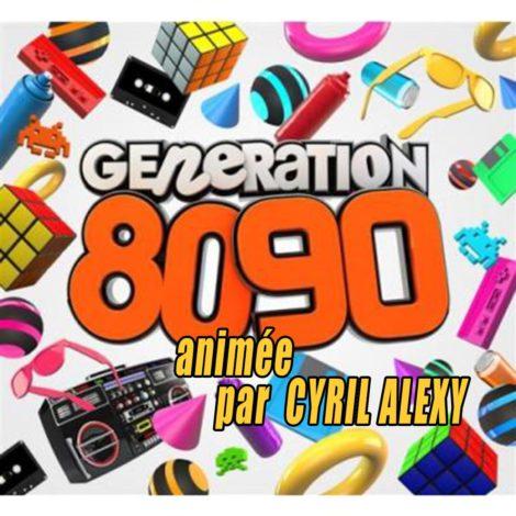 Génération 80's 90's