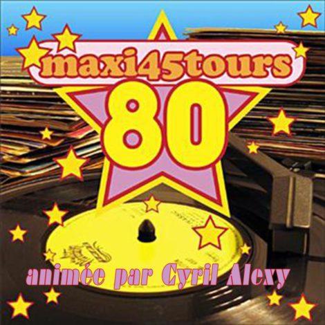 Maxi 45 tours 80's